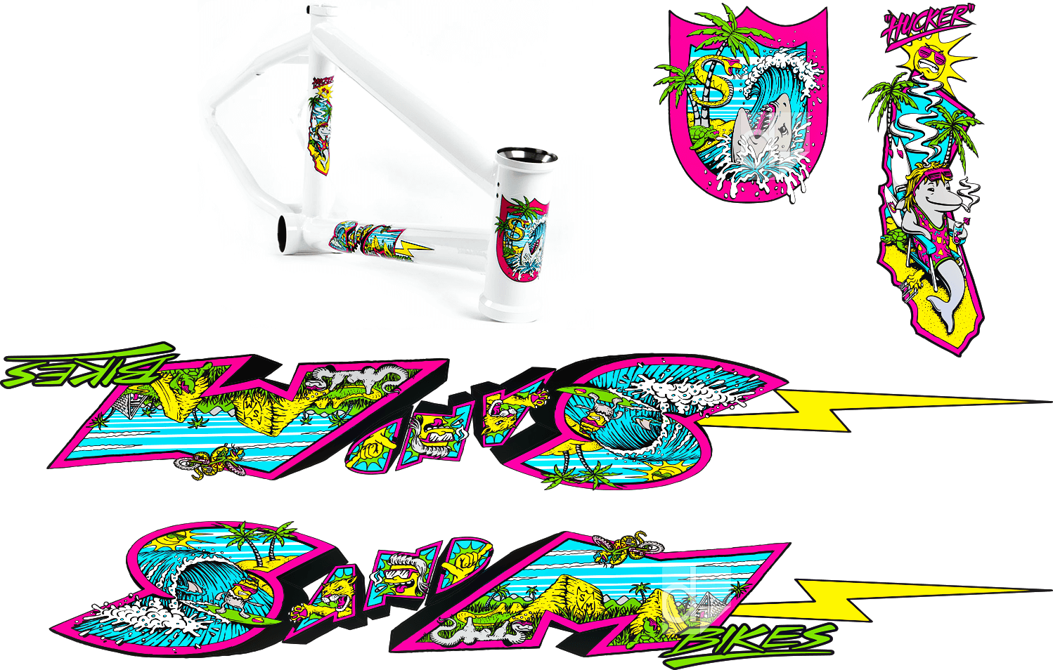 BMX Bike Decals | Custom Printing | Dilco
