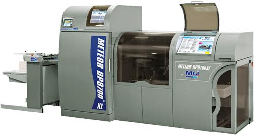 Dilco's new digital printer, the MGI DP8700 XL.