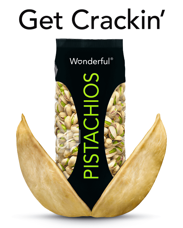 Floor decal printed by Dilco for Wonderful Pistachios, depicting photo-realistic quality