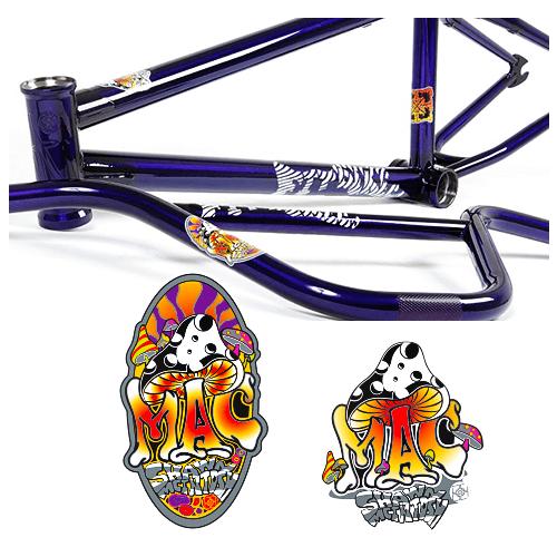 BMX Bike Decal Printing by Dilco in Orange, CA